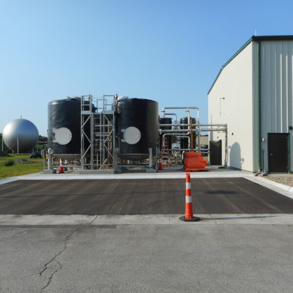 Oakland WWTP Biosolids Handling and Energy Recover Phase II